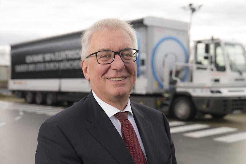 Jürgen Maidl, Leiter Logistik im BMW Group Produktionsnetzwerk. Bild: BMW