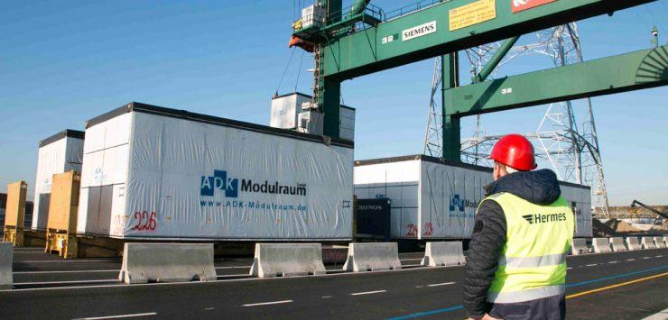 Hermes Projekt Logistik für die M+W Group - Bild 12.