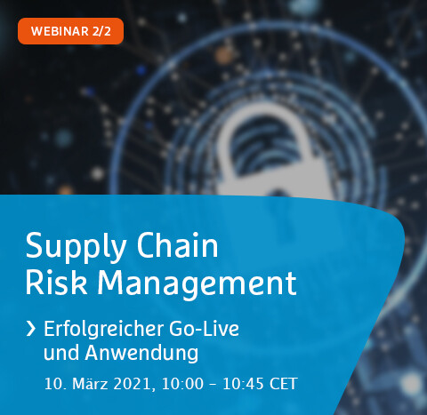 Webinar | Supply Chain Risk Management